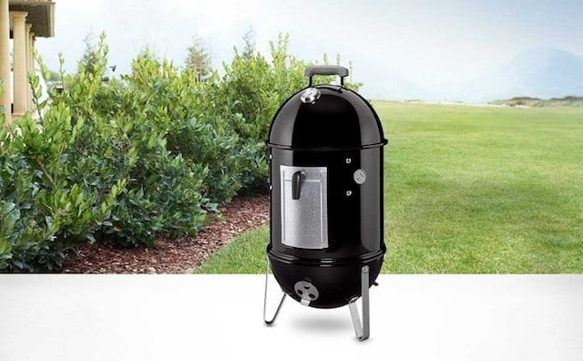 Weber Smokey Mountain Cooker 22-Inch Charcoal Smoker, Model 731001 Black