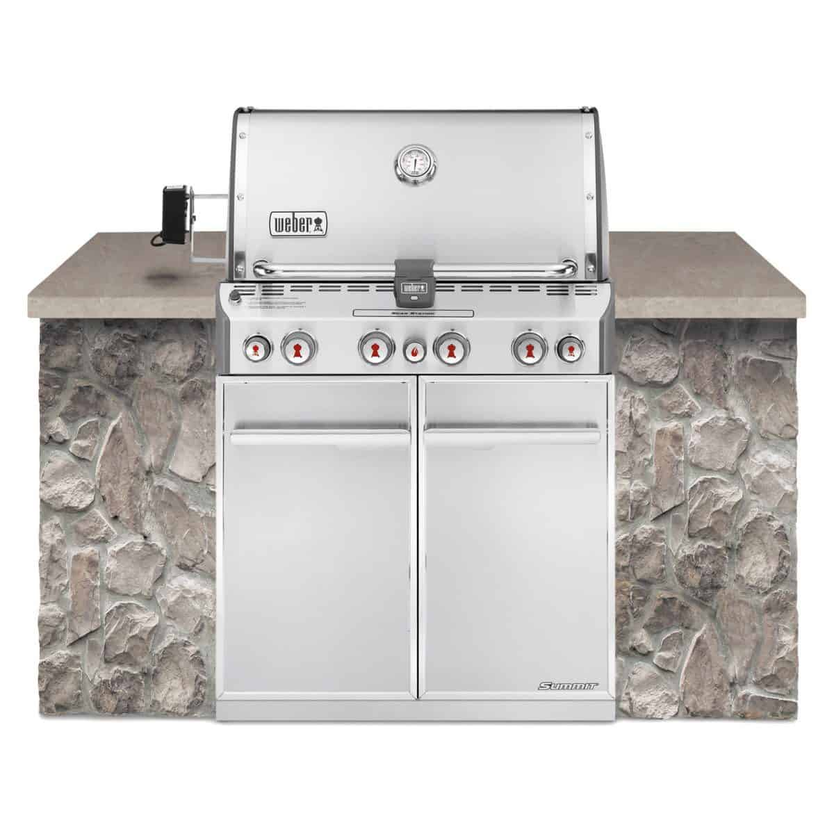 weber summit s470 gas grill model stainless steel