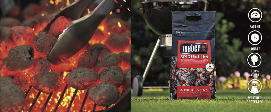 The New Weber Briquettes