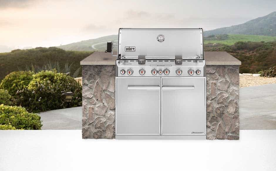 WEBER SUMMIT S-660 BUILT-IN