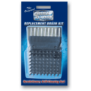 Replacement Brush Set For Original Grill Daddy Steam Cleaning Brush