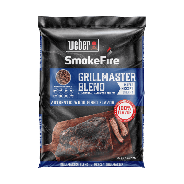 190001 GrillMaster Blend All-Natural Hardwood Pellets