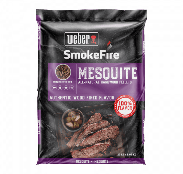 190003 Mesquite All-Natural Hardwood Pellets